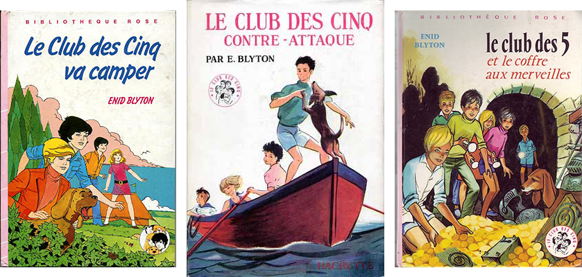 Le Club des Cinq de Enid Blyton